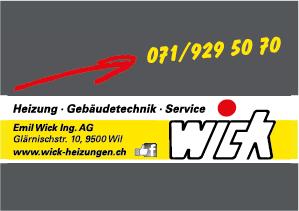 Wick Emil Ing. AG